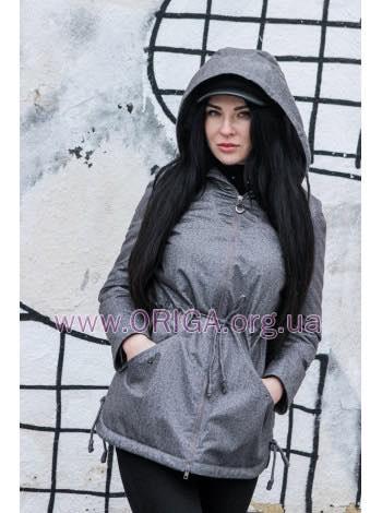 *  НОВИНКА 2019! женская парка на утеплителе ТИАНА-антидождь, 42-50
