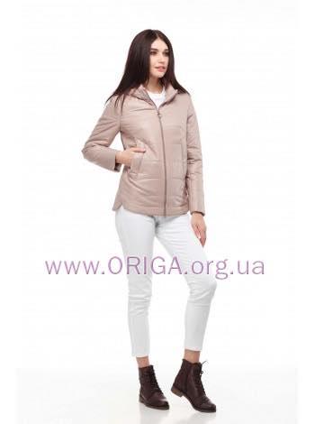 *  НОВИНКА 2019! женская куртка АМИНА-светлый, 42-52