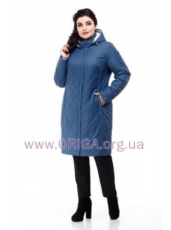 * НОВИНКА 2019! женское пальто ЛЕОНА-темная, 48-60