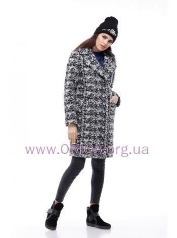 * Осень-зима VIP пальто ЛОРА, шерсть букле Италия, 42-48