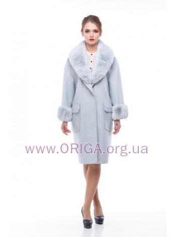 * ОСЕНЬ 2018! пальто МОНРО, шерсть Италии, кролик rex., 42-50