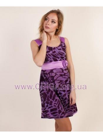"""женское платье """"Кармен"""" малина, фиолетовый, черный, 42р"""