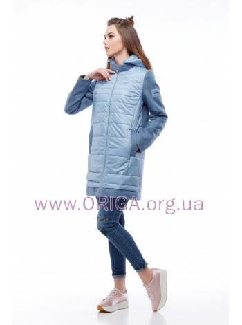 * New spring 2018! женское полупальто/ удл. куртка ЭММА-1 светлая, 42-54