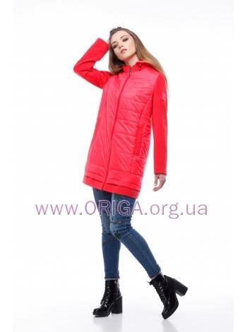* New spring 2018! женское полупальто/ удл. куртка ЭММА-2 темная, 42-52