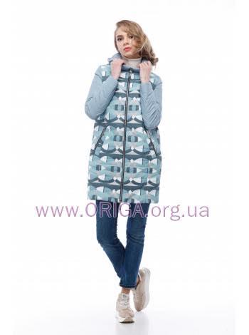 * New spring 2018! женское полупальто/ куртка удл. ВЕСТА-1, 42-54