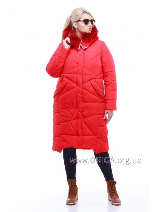 "Супер цена! зимнее пальто ""ДАКОТА"", цв. енот, 44,46,48"