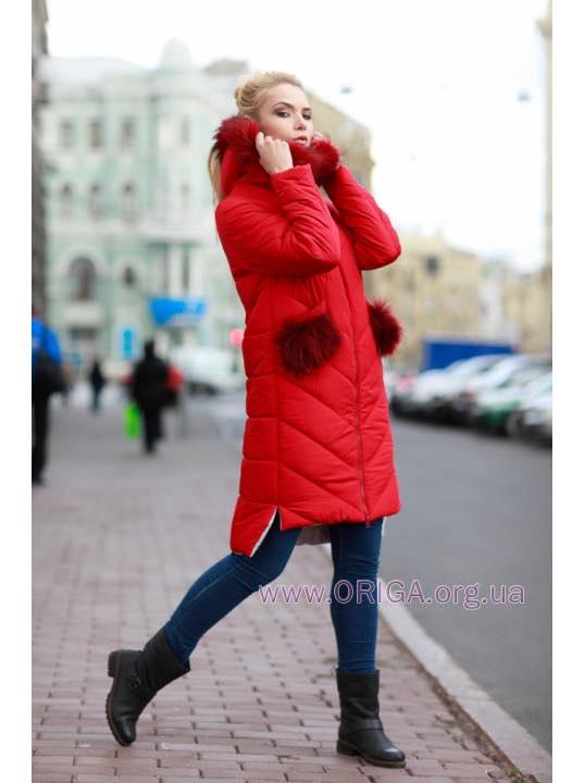"Супер цена! пальто ""Монтана-1"", енот натур./цвет. 42 - 44"