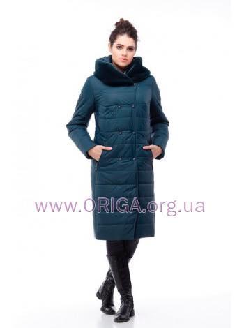 пальто женское «КИМ-2», мутон/иск.кролик, 48-60