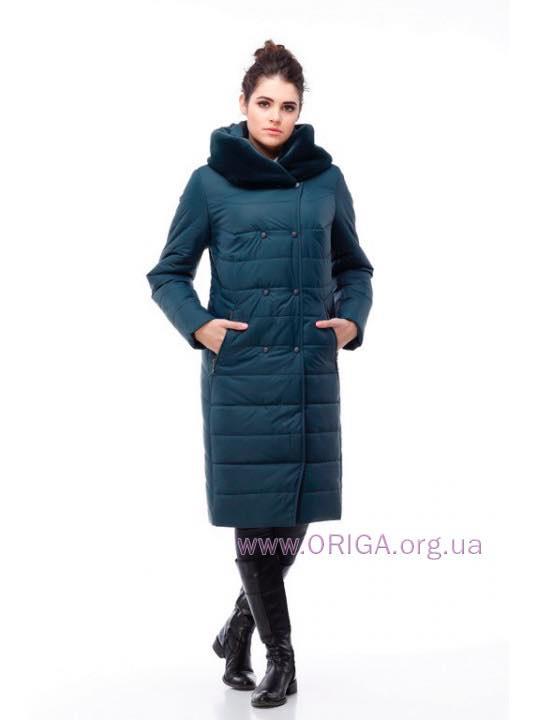 пальто женское «КИМ-2», иск.кролик, 50,58,60