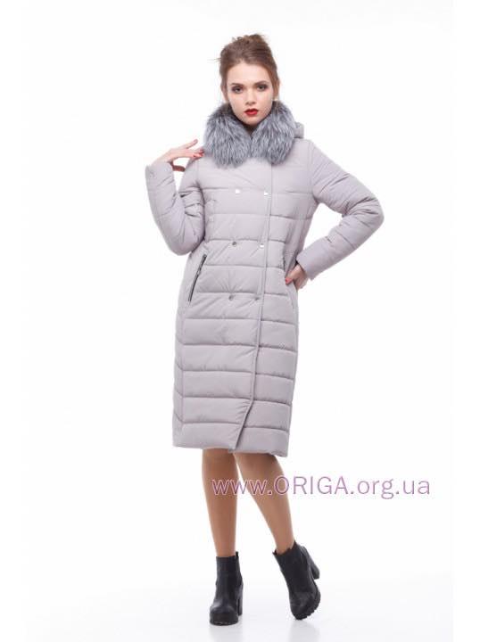 * Шок цена! пальто женское «КИМ-3», чернобурка, 44-54