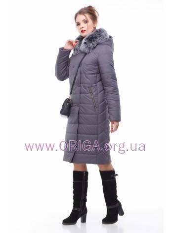 * Шок цена! пальто женское «КИМ-1», песец, 48-60