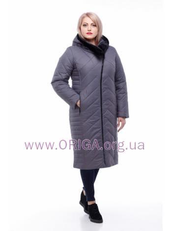 пальто зимннее «МИРА-2», иск.кроик/мутон, 48-58