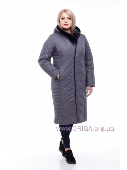 *Шок цена! пальто зимннее «МИРА-2», иск.кроик/мутон, 48-58