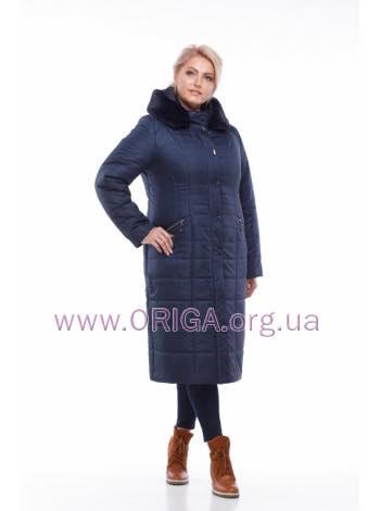 """*Шок цена! пальто женское """"СОФИ-2"""", иск. кролик, 48-60 размеры"""