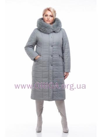 """*Шок цена! пальто женское """"СОФИ-1"""", меx песца, 56,58, 60 размеры"""