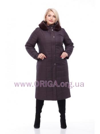 """пальто женское """"СОФИ-2"""", иск. кролик, 48-60 размеры"""
