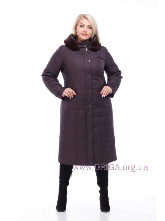 """пальто женское """"СОФИ-2"""", иск. кролик, 48, 58, 60 размеры"""
